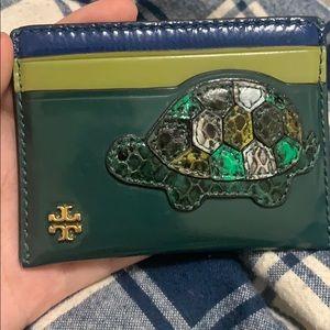 Tory Burch Turtle Cardholder